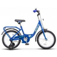 """Велосипед 2-х 14"""" Flyte синий Z011 /STELS/"""
