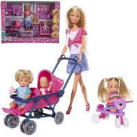 Штеффи Кукла с тремя пупсами 29 см 5736350029