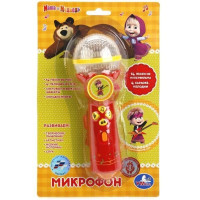Микрофон 1252960-BR3 14 песен Маша и Медведь