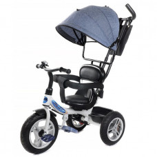 Велосипед 3-х PILOT PTA1LB синий лен надув. колеса 12/10