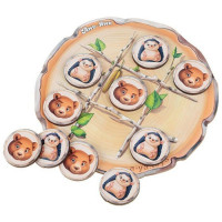 Дер. Крестики-нолики:ёжик и медведь ПСД159