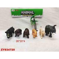 Набор животных 099Е-3 Дикие в пак.
