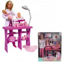 Штеффи Кукла Детский доктор + 2 пупса 5732608