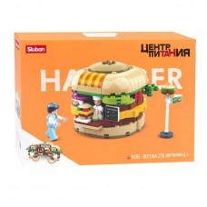 Констр-р 38-0705A Центр питания-Гамбургер 276 дет. в кор.