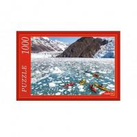 Пазл 1000 Лодки на ледяной реке КБ1000-6869