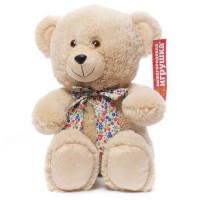 Медведь с бантом сидит 38х28х35см См-703-5