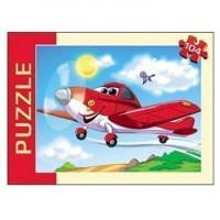 Пазл 104 Самолетик (красные) П104-1702