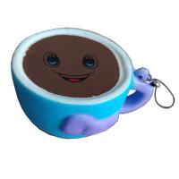 Игрушка антистресс мммняшка Squishy Чашка кофе 1Toy Т12405