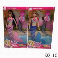 Кукла 110KQ Camaner Русалочка с дельфином в кор.