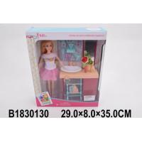 Кукла 200-52JX Ванная комната с аксесс. в кор.