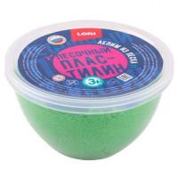 Набор ДТ Пластилин песочный Зеленый 250гр,формочка Пп-004 Lori