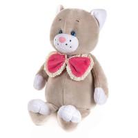 Романтичный Котик с розовым бантиком 20 см в кор.MT-GU092018-7-20
