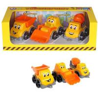 Строительный транспорт мини в подар. упак. Т6160 Технок