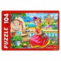 Пазл 104 Сказочная принцесса ПУ104-2453