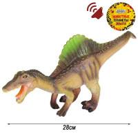 Игрушка на бат. Динозавр Звук – рёв животного, эластичная поверхность JB0208310