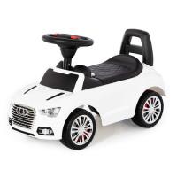 Каталка-автомобиль SuperCar №2 со звуковым сигналом белая 84552 П-Е /1/