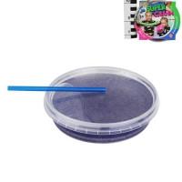 Лизун Слайм с фиолетовыми блестками 160гр. Super Слайм