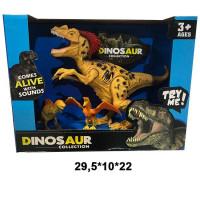 Набор животных 2019-33 Динозавры в кор.
