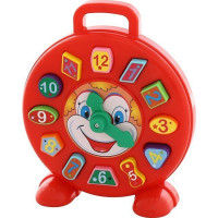 Логич.игрушка Часы Клоун 62741 /П-Е/6/