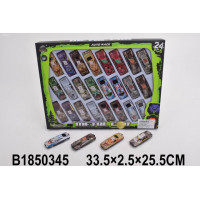 Набор машин 957-624KZ 24 шт.