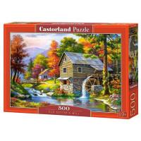 Пазл 500 Водяная мельница В-52691 Castor Land