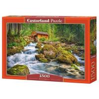Пазл 1500 Водяная мельница С-151783 Castor Land