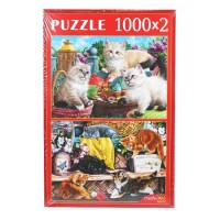 Пазл 2 в 1 1000+1000эл Пушистые котята ХП1000-4318