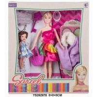 Кукла 8826-D Sariel мама с дочкой в кор.