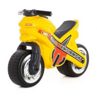 Каталка-мотоцикл МХ желтая 80578 П-Е /1/