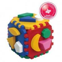 Логич.игрушка Куб умный малыш Т0458 интелком