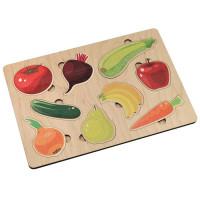 Дер. Игра развивающая Овощи-фрукты 00769