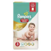 Подгузники трусики PAMPERS Premium Care Pants Midi 6-11 кг.