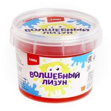 Волшебный лизун Красный с ароматом клубники 120мл. Лз-005 LORI