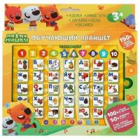 Планшет 82015-RHX15 МИМИМИШКИ азбука и счет,150+песен, фраз,звуков, 50+вопросов и игр.