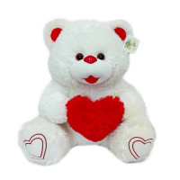 Медведь Лаура 60 см белый МЛР-60б