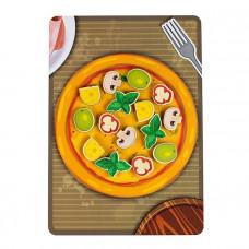 Дер. Липучка пицца грибная 30202