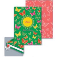 Ежедневник для девочек Бабочки А6 80л. 39792