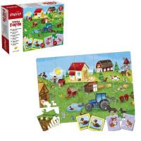 Игра Развивающая 3 в 1 Ферма 66780