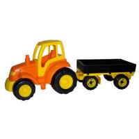 Трактор Чемпион с прицепом 0551 П-Е /2/