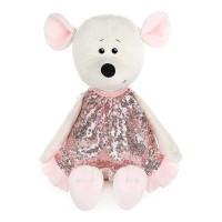 Мышка Мила в Розовом Платье, 28 см MT-MRT021918-28