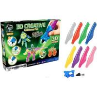 Набор ДТ Набор детских 3D-ручек 8 шт. светящиеся чернила Y8808-2 FITFUN TOYS