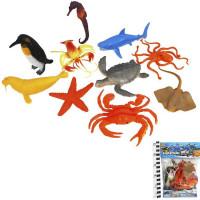 Набор животных 661-40 Морские в пак.