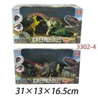 Набор Динозавров 3302-4 в кор.