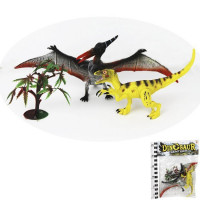 Набор динозавров 532-2RN с подвижными суставами, в пак.