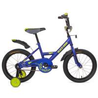 """Велосипед 2-х 20"""" 2002 base синий DD-2002B"""