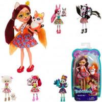 Enchantimals Кукла с любимой зверушкой DVH87
