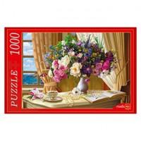 Пазл 1000 Цветочный натюрморт у окна Ф1000-6810