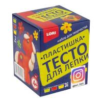 Набор ДТ Тесто для лепки 3 цв по 70 г Д/Тдл-03 Lori