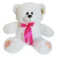 Медведь Патрик 40 см белый МПК-40б