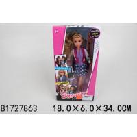 Кукла 8567-2JJ Твой стиль, с аксес. в кор.